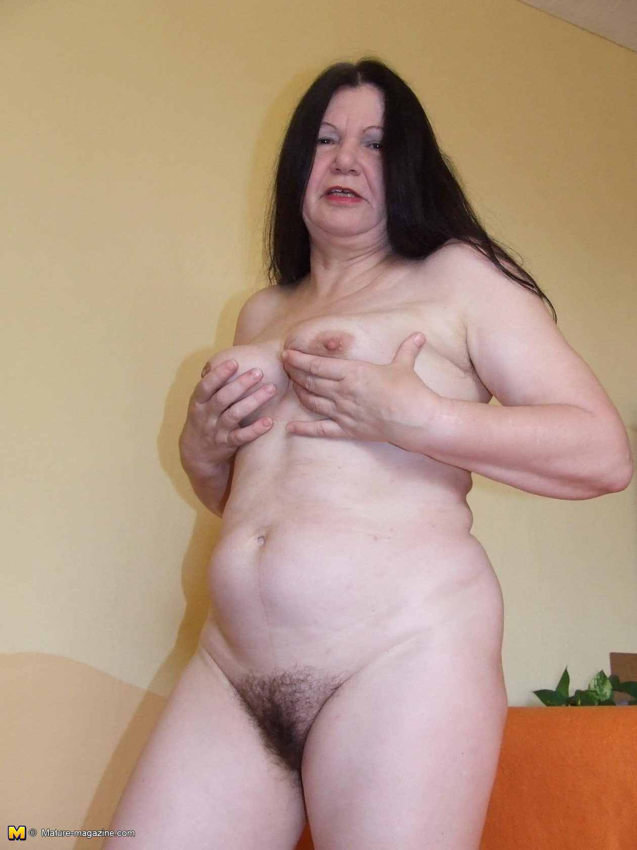 Total granny naked